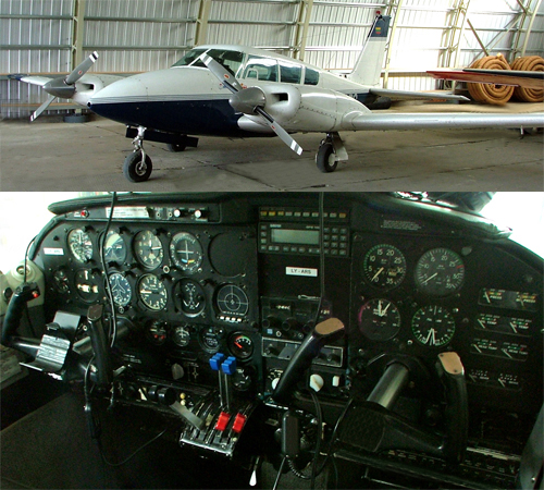 Piper Twin Comanche